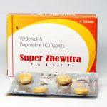 Super Zhewitra 28錠( レビトラの成分と早漏治療成分ダポキセチン)スーパージェビトラ